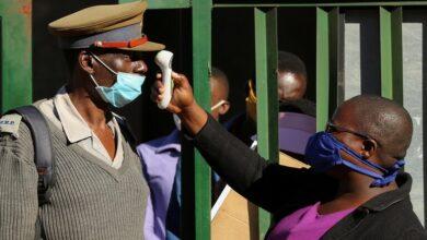 صورة وفاة وزير في حكومة زيمبابوي بفيروس كورونا