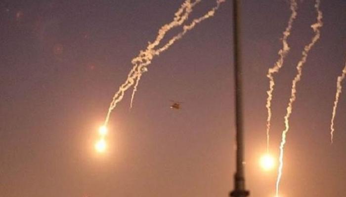صورة سقوط 3 قذائف هاون داخل المنطقة الخضراء ببغداد