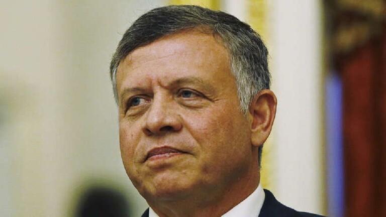 صورة عاهل الأردن يصدر مرسوما بحل مجلس النواب