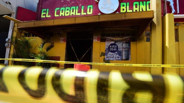 صورة بينهم نساء.. 11 قتيلا بمذبحة في حانة مكسيكية