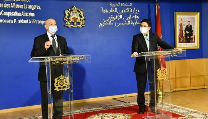 صورة مصادرصحفية : صالح والمشري يشاركان بالحوار الليبي في المغرب