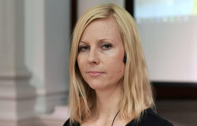 صورة واشنطن تعترف بحرمانها صحفية فنلندية من جائزة دولية لانتقادها ترامب..