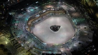 """صورة حددتها """"شؤون الحرمين""""… 9 إجراءات وقائية للصلاة في المسجد الحرام"""