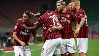 صورة موعد مباراة ميلان وإنتر بالدوري الإيطالي .