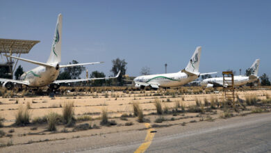 صورة عودة الرحلات الجوية بين طرابلس وبنغازي