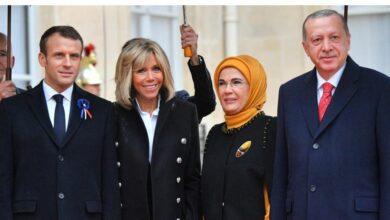 """صورة بسبب """"صحة عقلية ماكرون"""".. فرنسا تستدعي سفيرها لدى تركيا"""